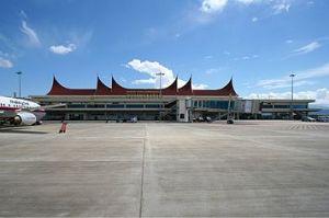 Bandara Internasional Minangkabau (BIM) Sumber: wikipedia.org